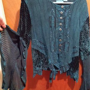 Dresses & Skirts - Green Fairy Blouse & Skirt Set